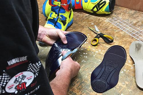 Custom fit footbed